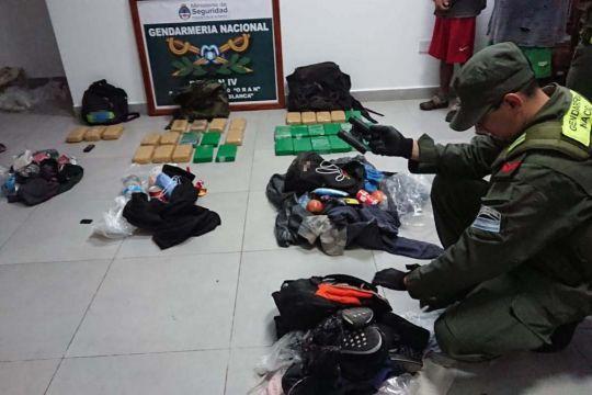Orán: Traían mas de 35 kilos de cocaína