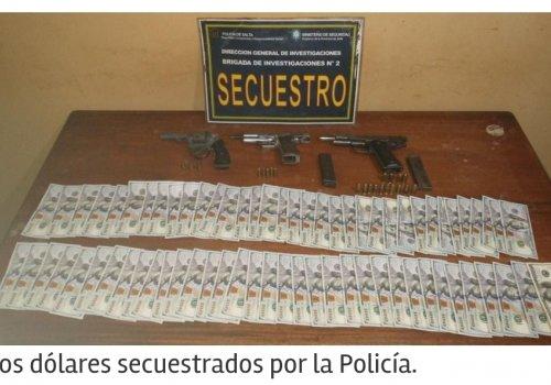 Detenidos, acusados de un robo millonario