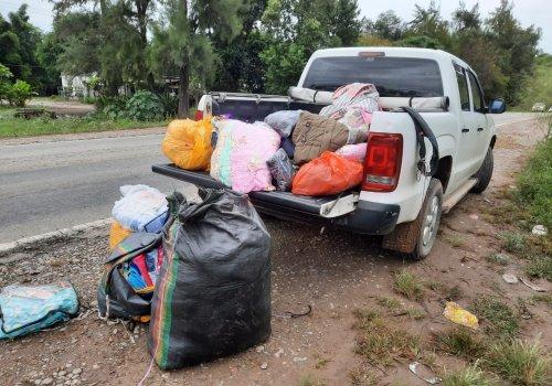 Orán: 15 kilos de cocaína entre mantas de abrigo