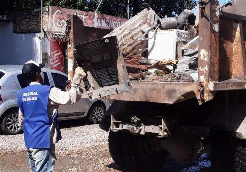 Los barrios donde se realizará el descacharrado en Orán